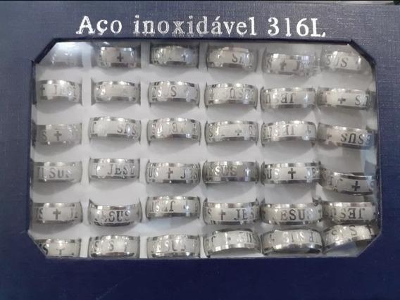 Caixa De Aliança Evangélica Prata Jesus Com 36 Unidades