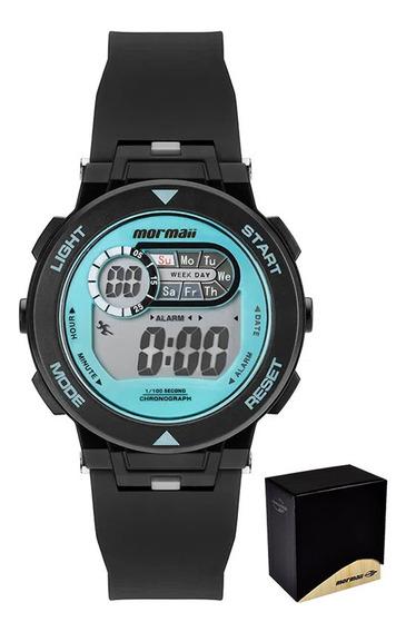 Relógio Infantil Mormaii Digital C/garantia E Nf Mo0986a/8a