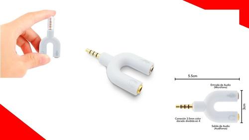 Imagen 1 de 1 de Adaptador Auriculares En Y Brobotix Audio Y Microfono 3.5mm
