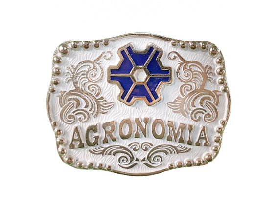 Fivela Agronomia Para Cinto Cowboy Country Preço Bom