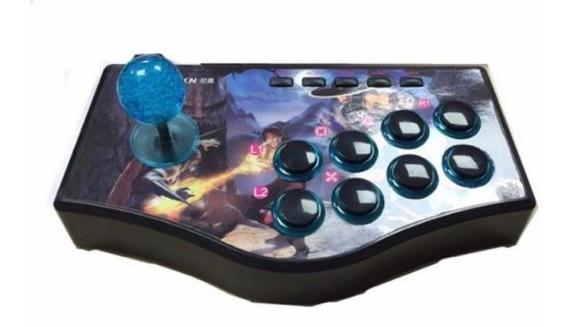 Controle Arcade Fliperama P/ Ps2 / Ps3 / Pc - Promoção