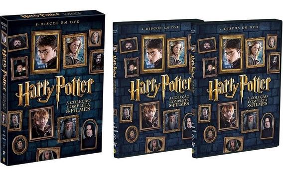 Dvd Harry Potter A Coleção Completa 8 Filmes - Dublados