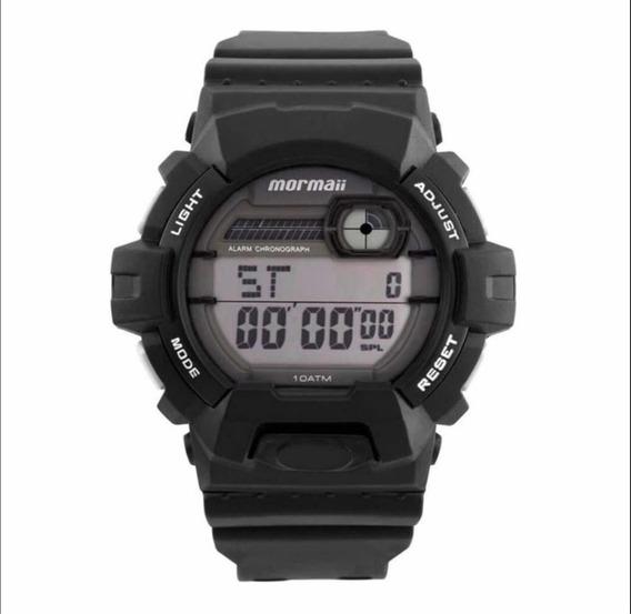 Relógio Mormaii Masculino Preto Mom08090/8b
