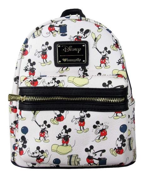 Mochila Mini Estampado De Mickey Mouse Loungefly