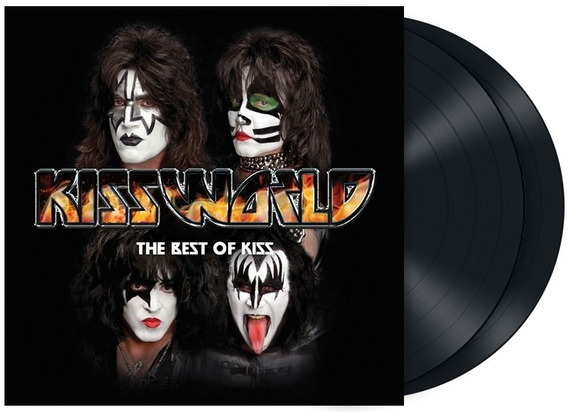 Kissworld - The Best Of Kiss / Black 2-lp