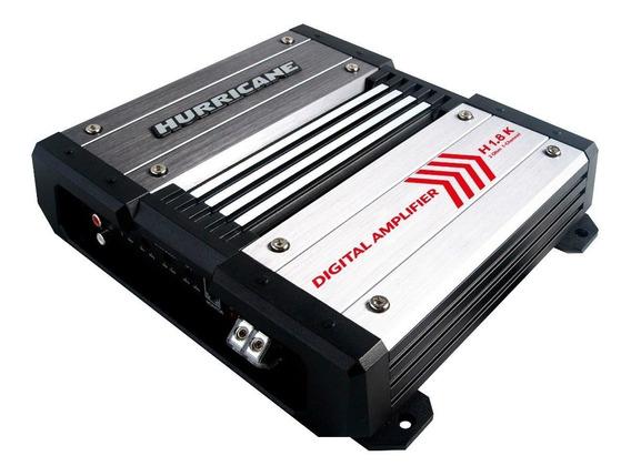 Módulo Amplificador H1.8k Digital 1800wrms 1 Canal Hurricane