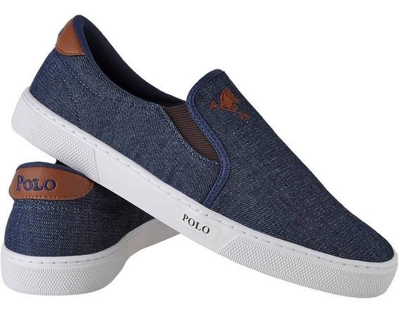 Sapatênis Masculino Polo Joy Iate Jeans Promoção.