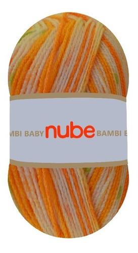 Imagen 1 de 4 de Hilado Nube Bambi Baby X 1 Ovillo - 100 Grs. Por Color