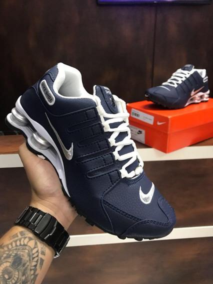 Tenis Nike Shoxs Nz Masculino Nike Deliver Mais Frete Gratis