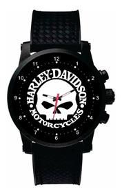 Relógio De Pulso Personalizado Logo De Moto Hd - Cod.999