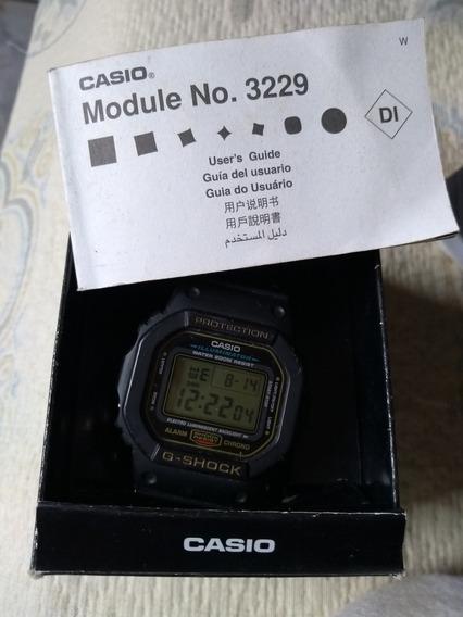 Relógio Casio G Shock Iluminador (ouro)
