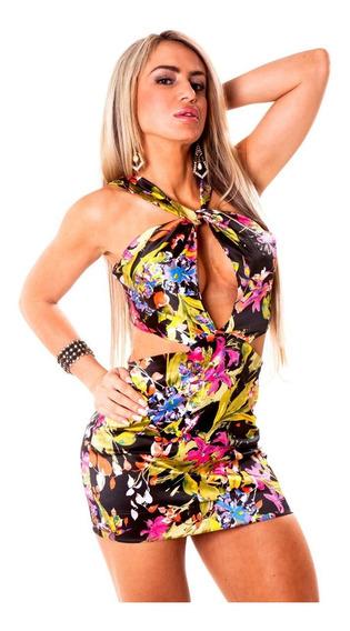 Vestido Colado Balada Estil Labellamafia Liquidação!!