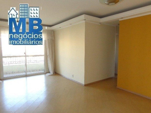 Apartamento Com 3 Dormitórios Para Alugar, 90 M² Por R$ 3.000,00 - Vila Sofia - São Paulo/sp - Ap1010