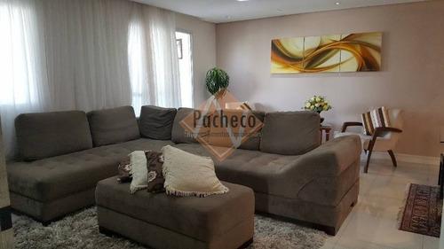 Imagem 1 de 11 de Apartamento Na Mooca, 119 M², 03 Dormitórios, 02 Suítes, 03 Vagas, R$ 1.100.000,00 - 2069