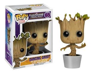Funko Pop Dancing Groot #65 Marvel Jugueterialeon