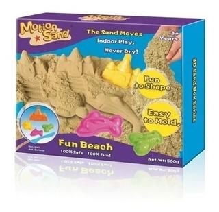 Motion Sand Fun Beach Playa 500g Arena Magica Ms10 Creciendo