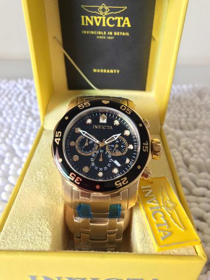 Relógio Invicta Original Pro Diver 0072 Com Certificação Inv