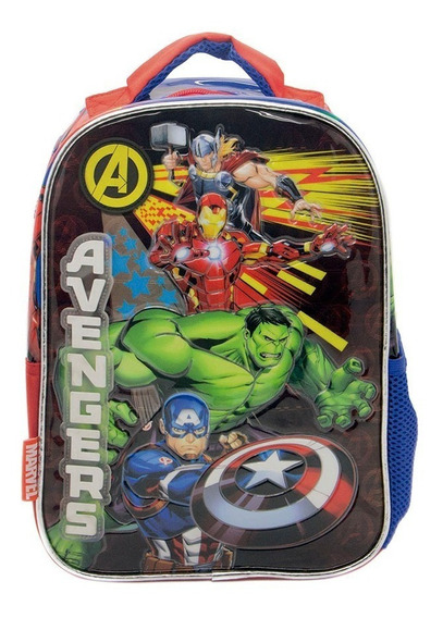Mochila Marvel Avengers 12p Lo De Renata Tienda