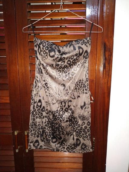 Camisa-vestido Leopardo Precio Negociable