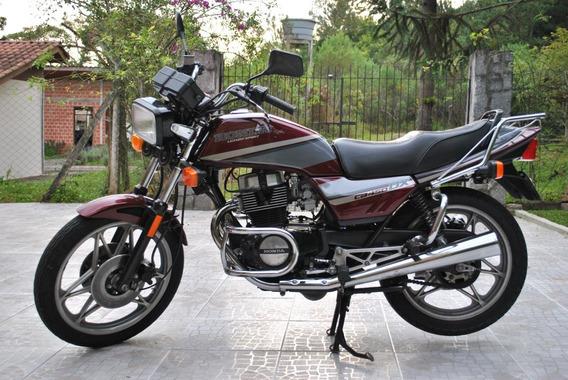 Cb 450 Dx 1990 Com 43.500km Originais