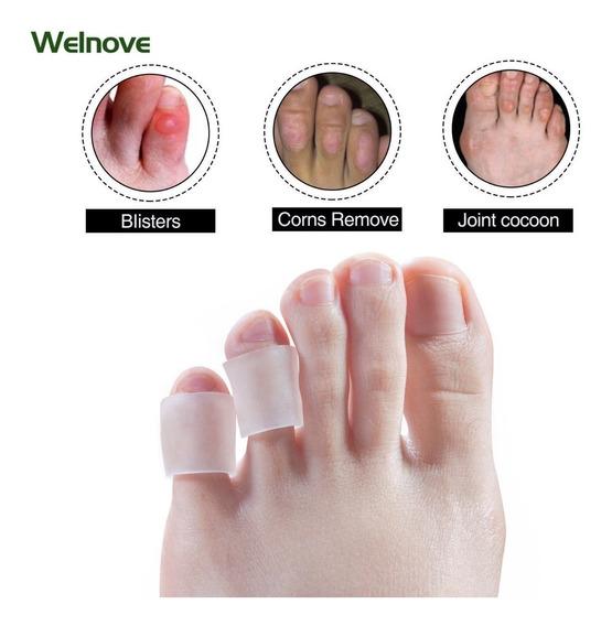 Protetor Separador De Dedos Para Calos Atritos Lesão