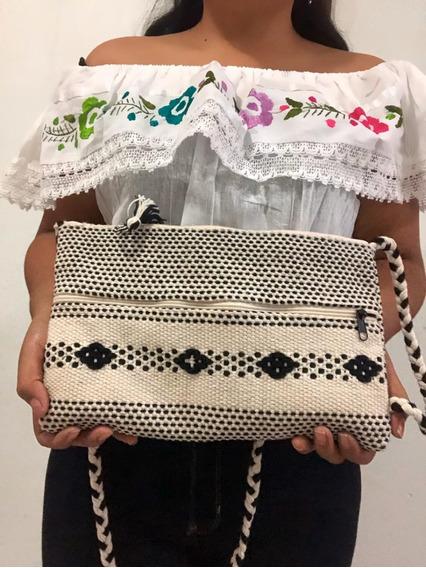 Crossbody Bag, Mini Bolsa De Tela, Moda, Artesanal Mujer