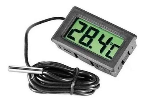Imagem 1 de 2 de Medidor De Temperatura Digital Com Sensor Externo Termometro