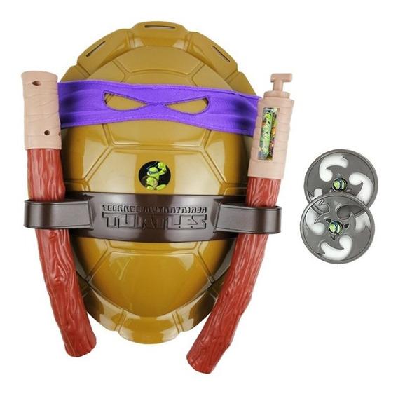 Fantasia Tartarugas Ninja Casco E Acessorios Tmnt Donatello