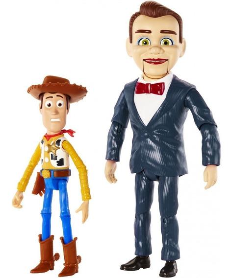 Novo Playset Toy Story 4 Boneco Benson E Woody Mattel