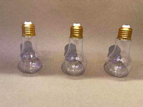 Kit Com 12 Lembrancinhas Tubete Modelo De Lâmpada