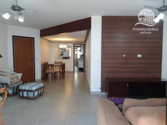 Pitangueiras - Local Nobre - 140 M² Úteis - 02 Vagas. - Ap1009