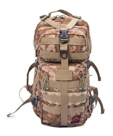 Mochila Assault Tática Militar Army Airsoft Trilhas E Rumos
