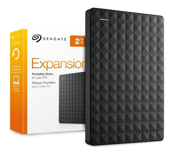 Disco Rigido Externo 2tb Seagate Expansion Portatil Usb 3.0 Pc Ps4 Notebook Gtia Oficial