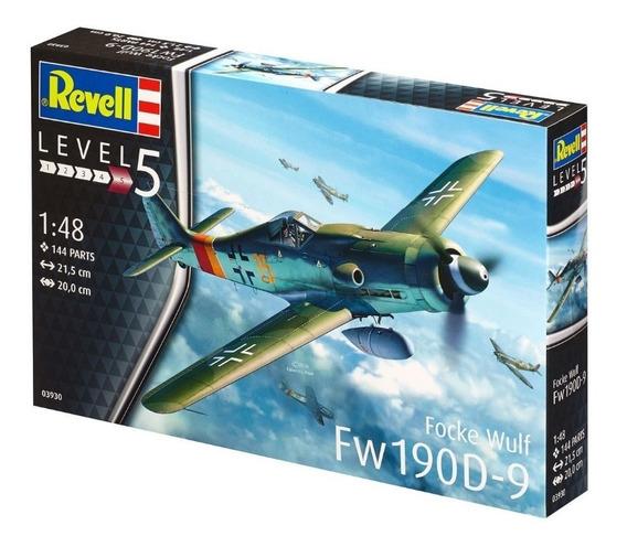 Kit Revell Avião Caça Focke Wulf Fw190 D-9 1/48 - 03930