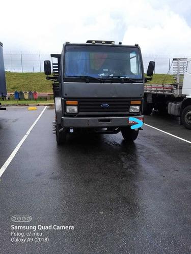 Caminhão Ford Cargo 1314 Trucado Carroceria De Madeira