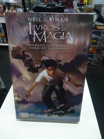 Os Livros Da Magia Neil Gaiman Panini Books Edição Nova