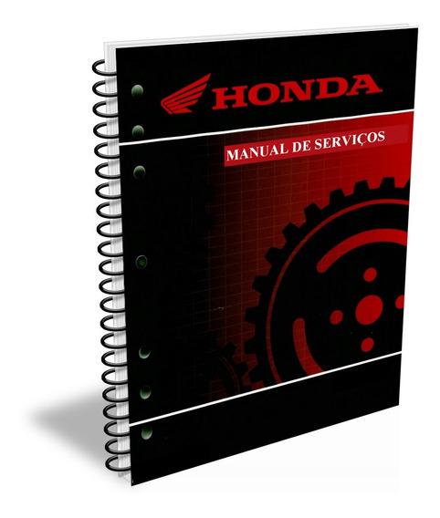 Manual De Serviços Honda - Nx4 Falcon - 2008 + Cat De Peças