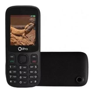 Celular Bom E Bararto Ipro I3200 Preto + 2.4 Lcd Lacrado