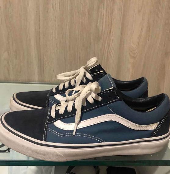 Vans Old Skool Azul Original Tamanho 42