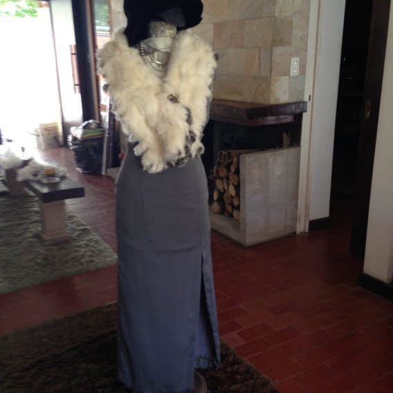 Vestido Largo Crepyorye