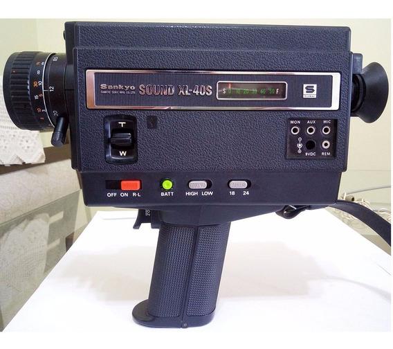 Filmadora 8mm Sound Xl-40s Sankyo