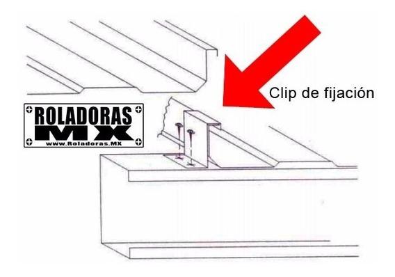 Roladora De Clips De Fijación Para Lamina Kr18 - 90 Y 180°