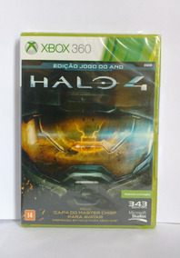 Halo 4 Game Of The Year Edition Xbox 360 Midia Fisica C/nf