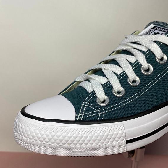 Tênis All Star Verde Esmeralda Lona Original - Atitude