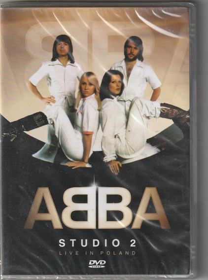 Dvd Abba Studio 2 - Live In Poland ( Lacrado)