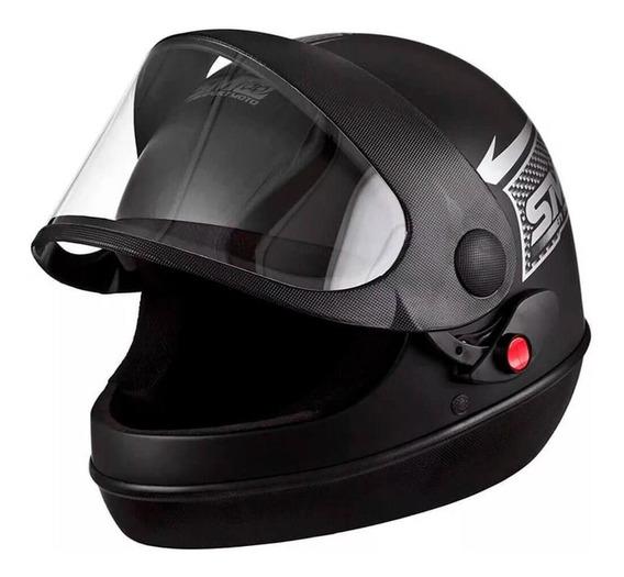 Capacete Sport Moto N 58 Preto