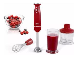 Atma Lm8526re Licuadora De Mano 600w C/accesorios De Cocina