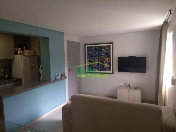 Apartamento Mobiliado Com 2 Dormitórios Para Alugar, 54 M² Por R$ 2.200/mês - Torre - Recife/pe - Ap0014