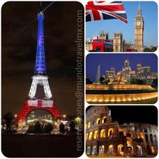 Venta De Boletos De Avión A París, Madrid, Londres Y Roma.