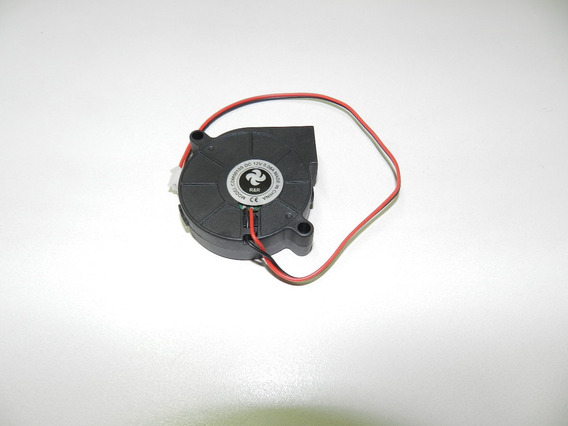 Fan Ventoinha Radial Cooler Caracol 12v 0,06a 3d Impressora